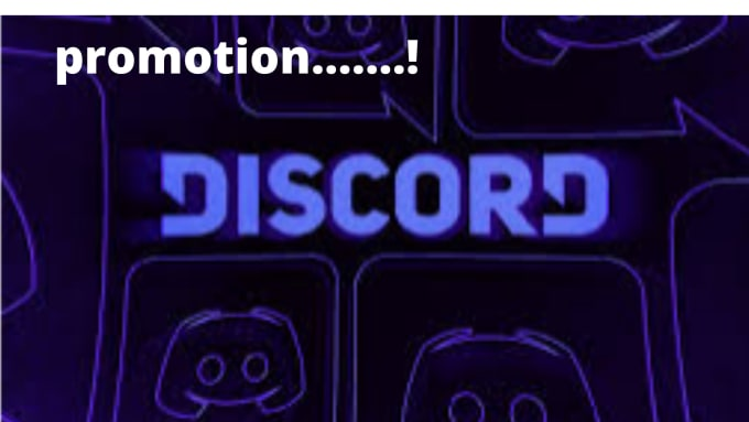 I will promote of your discord server to 60k active members, FiverrBox
