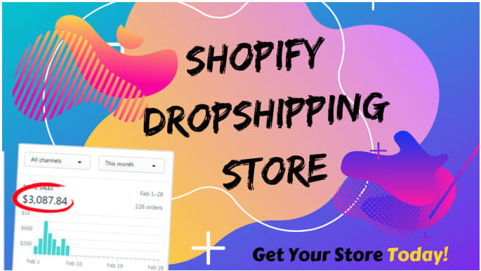 I will develop 7 figure shopify website or shopify dropshipping store with marketing, FiverrBox