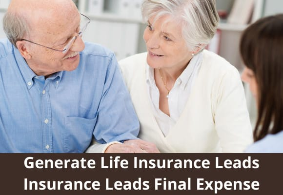 I will generate life insurance leads insurance leads final expense, FiverrBox