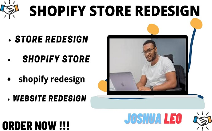 I will do shopify redesign and shopify website redesign, FiverrBox