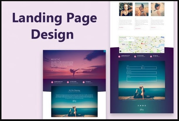 I will design shopify landing page, clickfunnels, mailchimp landing page, FiverrBox