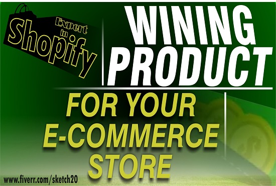 I will do winning product research for Shopify, amazon, Ebay, Etsy, Aliexpress., FiverrBox