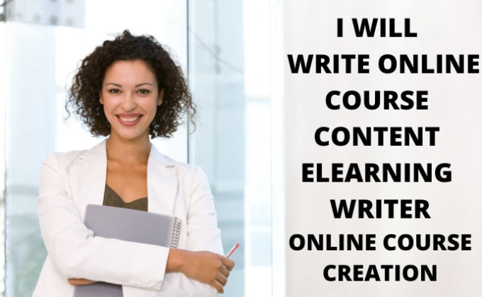 I will be your online course content writer for online course creation, FiverrBox
