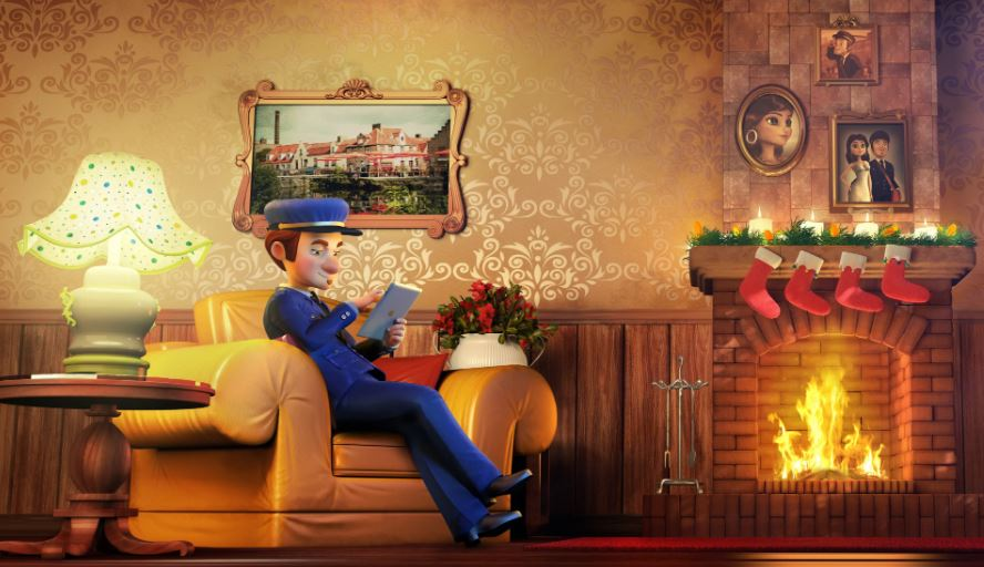 I will do christmas video, christmas animation, 2d3d animated christmas video, FiverrBox