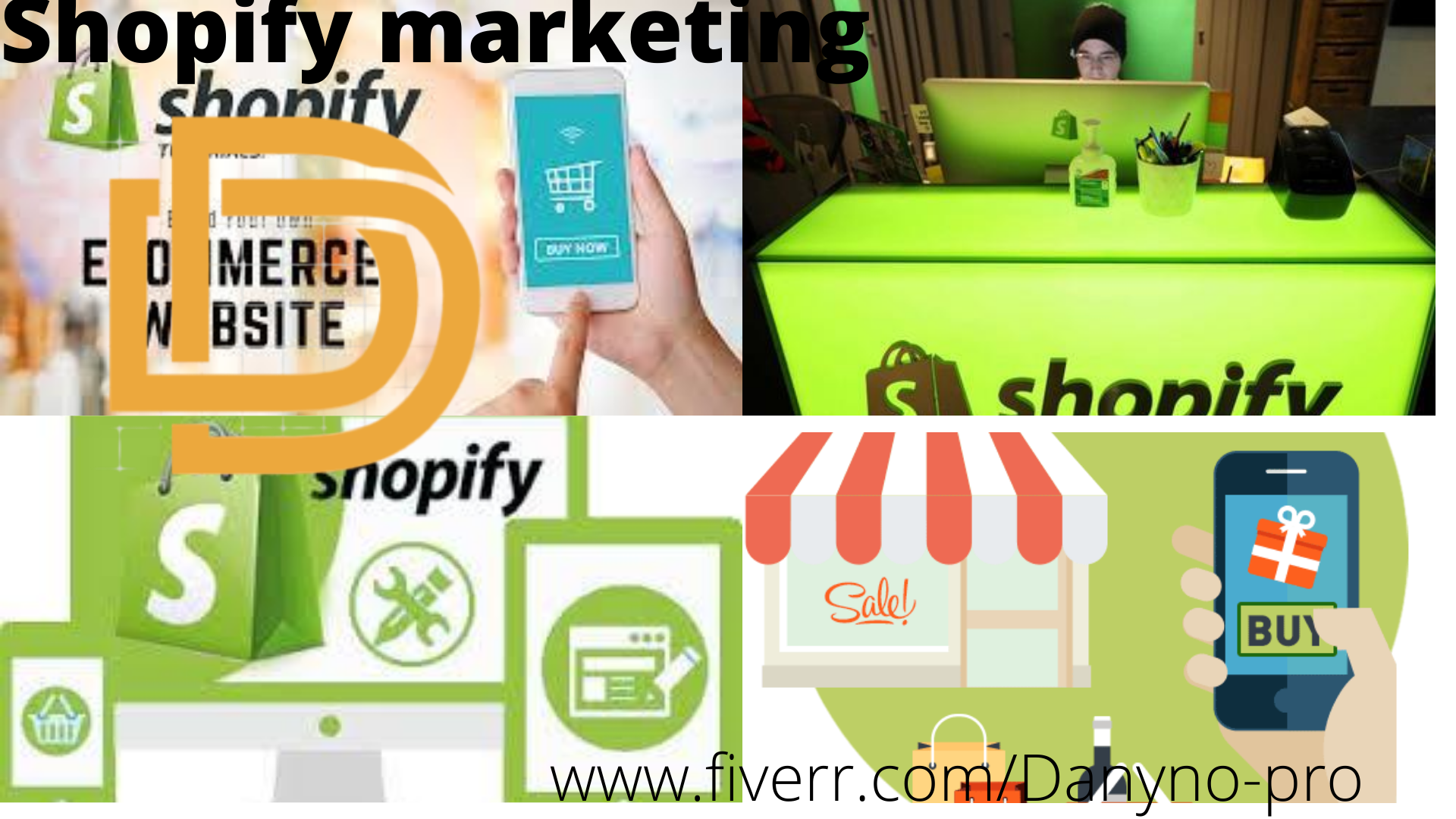 I will run an high converting shopify marketing promotion to drive, FiverrBox