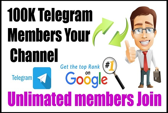 I will organically promote telegram group or channel to get new active members, FiverrBox