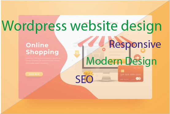 I will design wordpress website for your service or business, FiverrBox