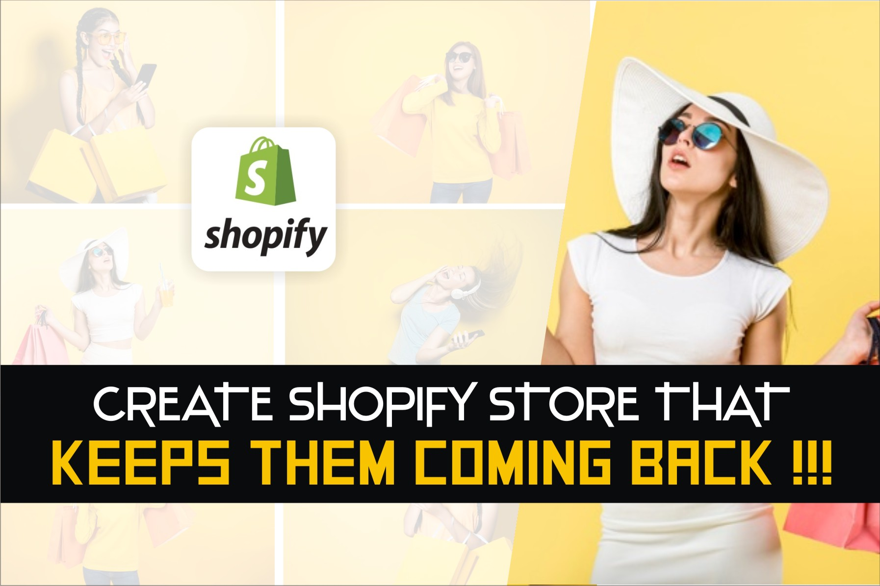 I will shopify website, shopify store, shopify dropshipping store or shopify expert, FiverrBox