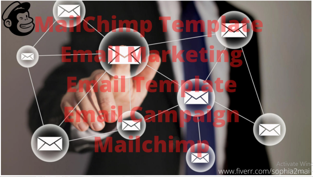 I will setup mailchimp template, email campaign, mailchimp, email template, FiverrBox