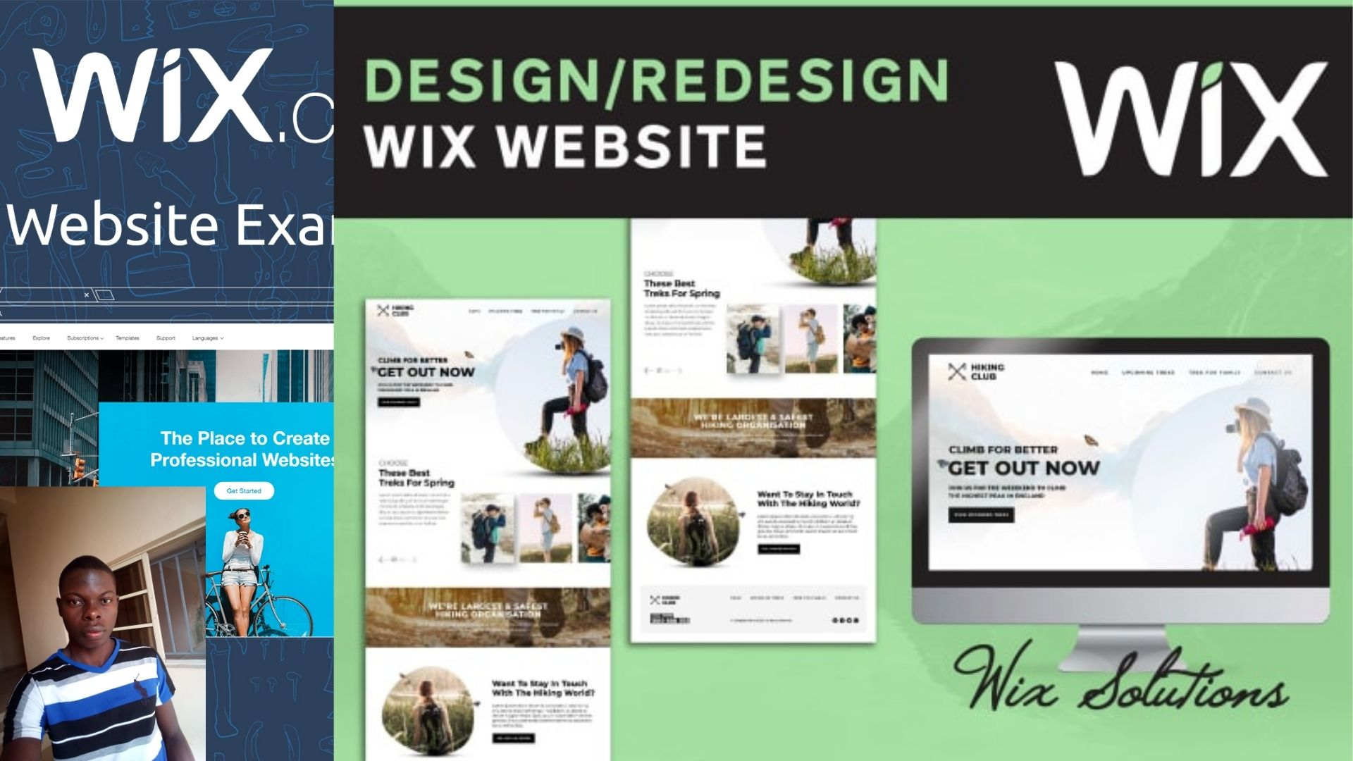 I will create or redesign wix website and wix ecommerce website, FiverrBox