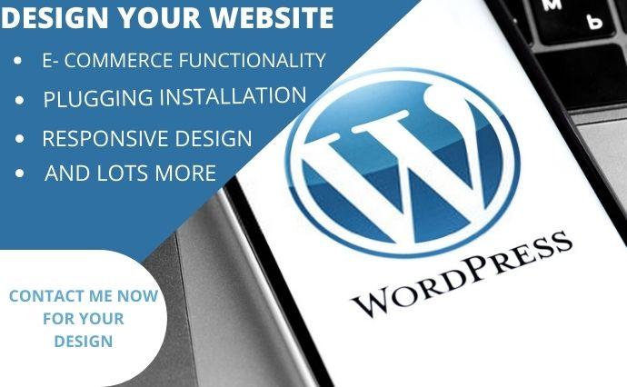 I will wordpress,wordpress website design,developerwordpress SEO, FiverrBox