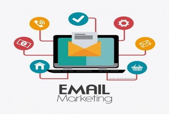I will do bulk email blast, bulk email marketing campaign, FiverrBox