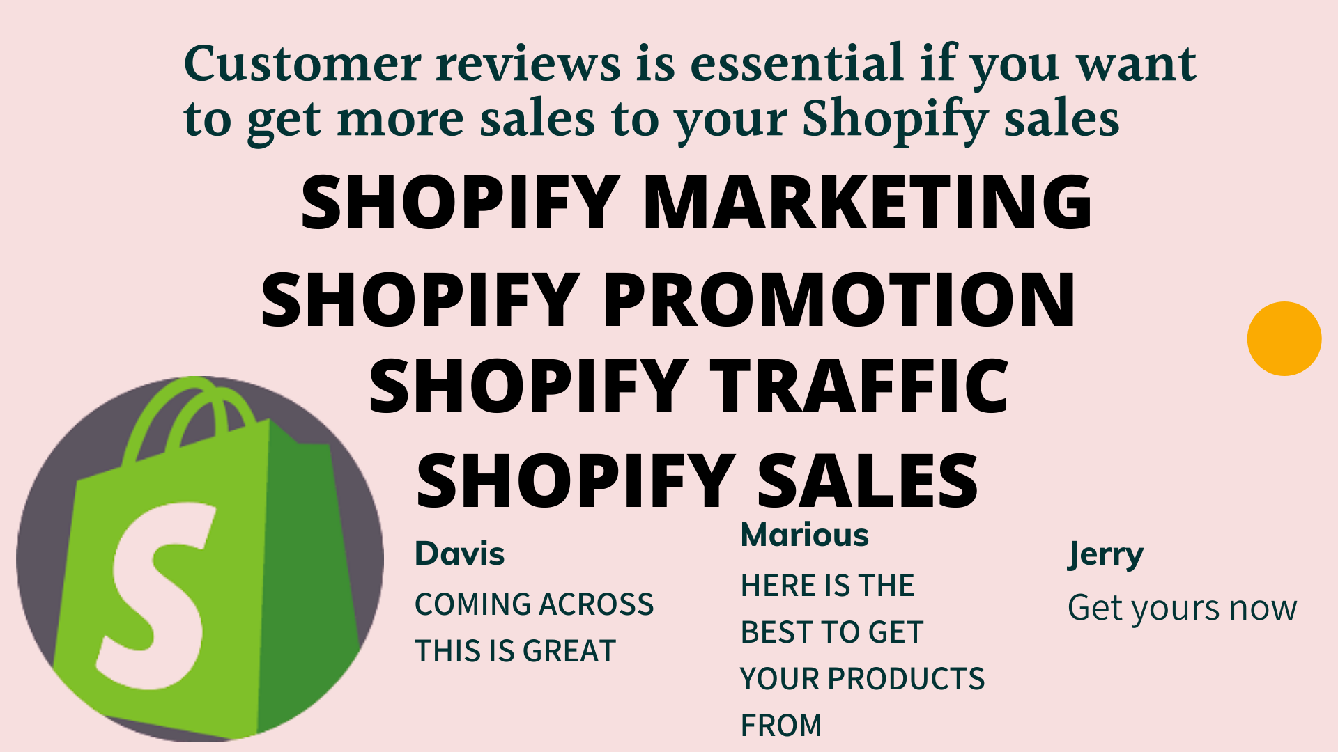 I will do shopify marketing promotion drive traffic for shopify sales, FiverrBox