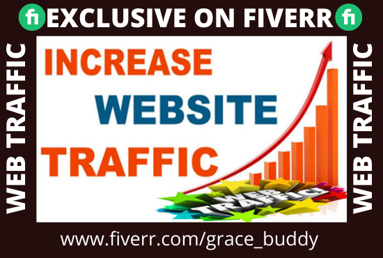 I will drive real and organic web visitors, web traffic to your website to boost seo drive real and organic web visitors, web traffic to your website to boost seo, FiverrBox