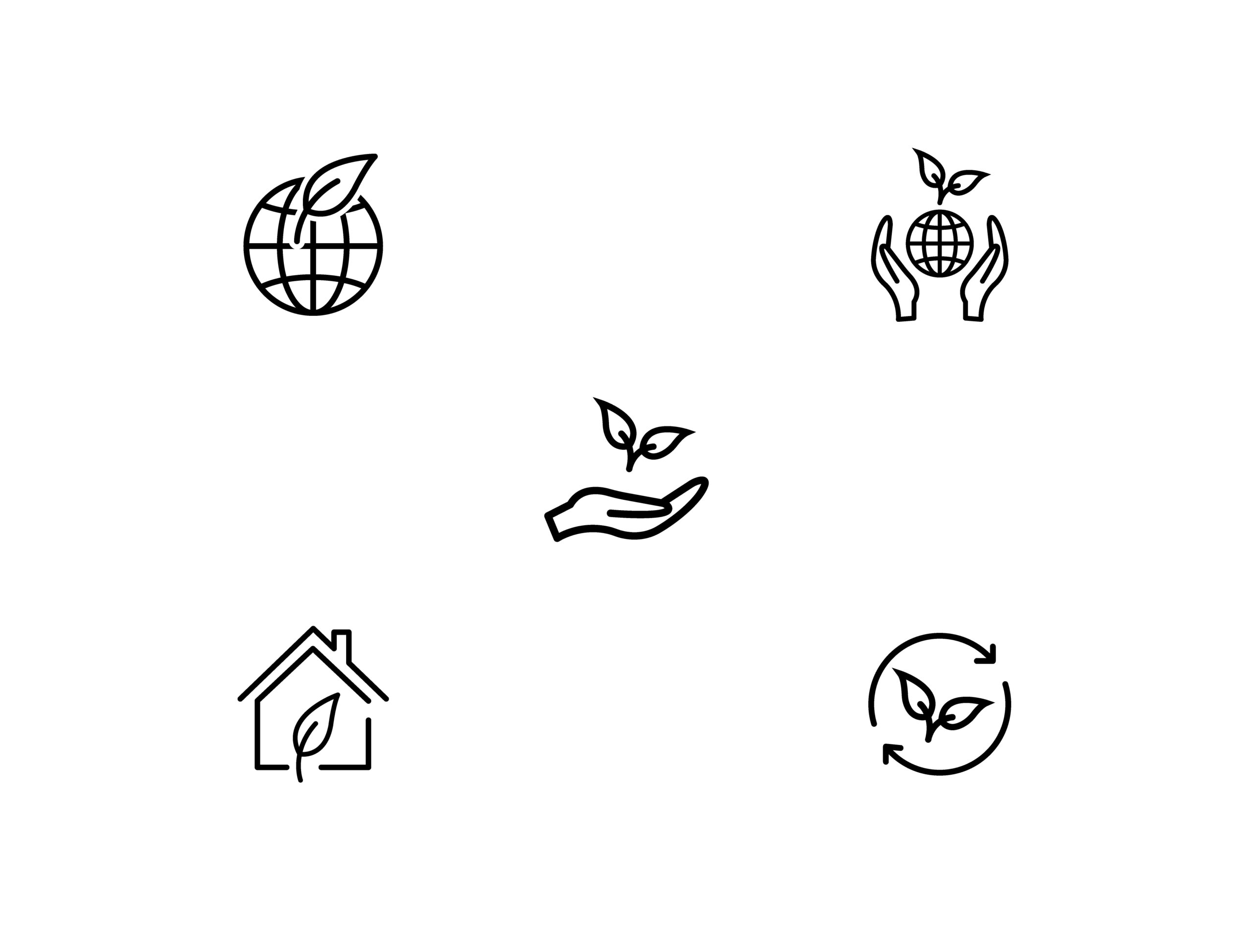 I will design amazing custom line icon set for the app and website, FiverrBox