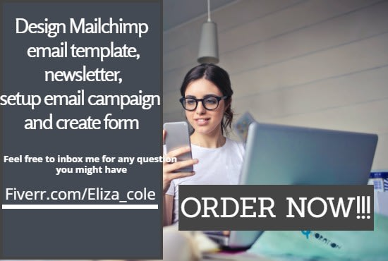 I will design mailchimp email template,newsletter,setup email campaign and create form, FiverrBox