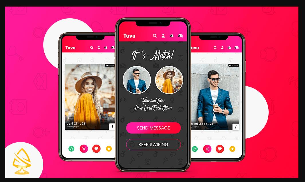 I will dating app ,social media app, dating website ,video chat app, FiverrBox