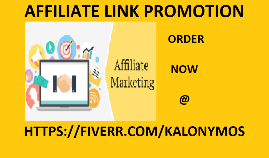 I will do clickbank promotion,onlyfans link,affiliate link promotion, FiverrBox