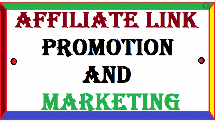 I will do affiliate marketing,affiliate link promotion,amazon,clickbank, FiverrBox
