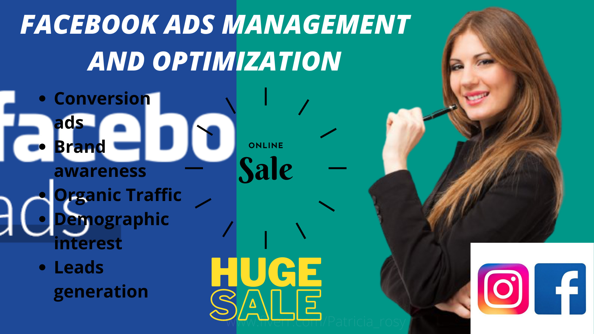 I will manage and optimize your facebook ads for conversion, FiverrBox