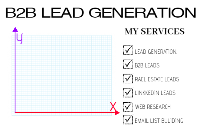 I will do b2b lead generation, linkedln leads generation, and real estate leads, FiverrBox