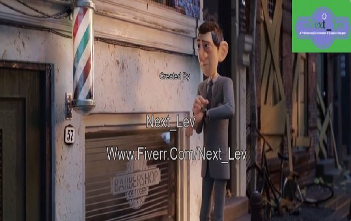I will create 3d character animation,3d animation, character modeling,and cartoon anima, FiverrBox