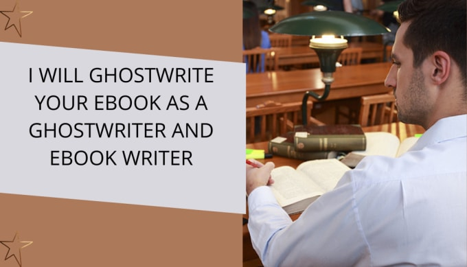 I will ghostwrite your ebook as a ghostwriter and ebook writer, FiverrBox