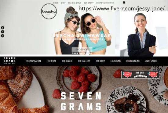 I will do wix website design wix website redesign wix website ecommerce wix builder, FiverrBox