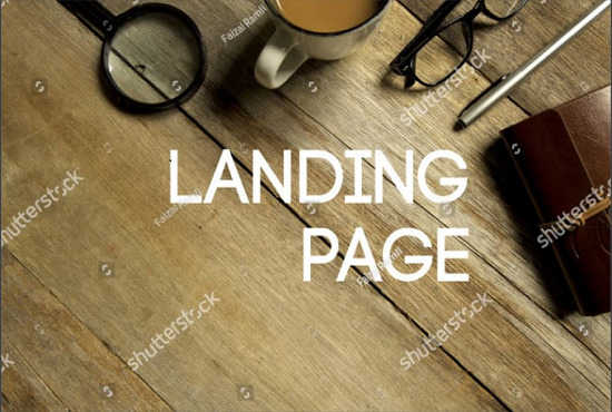 I willl create high converting landing page for your niche, FiverrBox