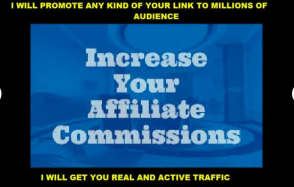 I will do affiliate link promotion affiliate marketing clickbank, FiverrBox