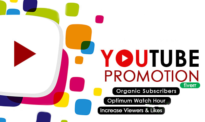 I will promote your youtube channel to increase subscribers, FiverrBox
