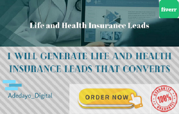 I will generate health and life insurance leads that convert using Facebook ads, FiverrBox