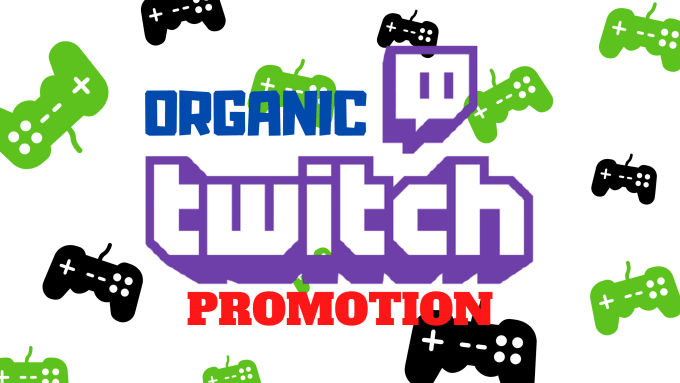 I will run organic twitch promotion to obtain real and targeted twitch audience, FiverrBox