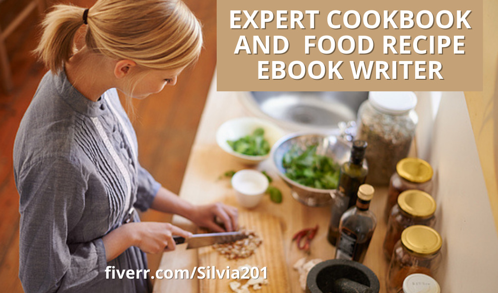 I will write your original and well design cookbook and recipe book, FiverrBox