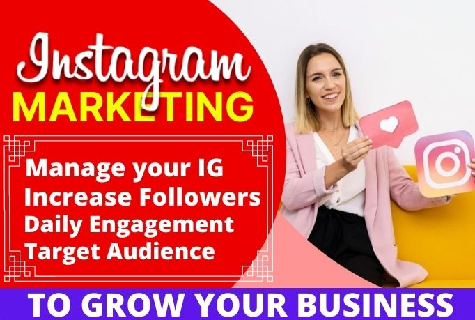 I will do Instagram marketing for fast organic growth, FiverrBox