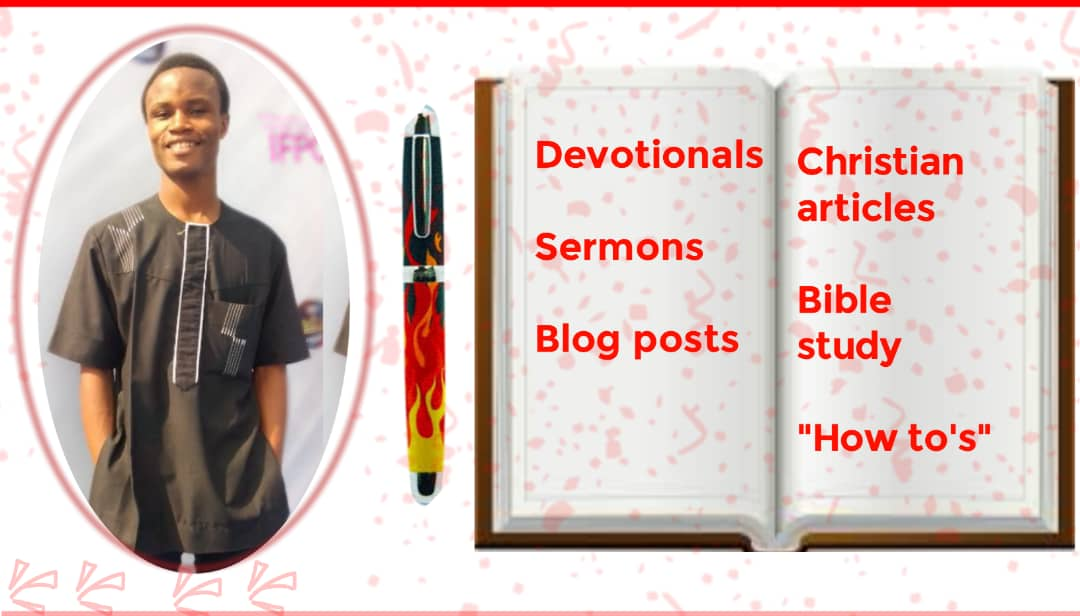 I will write christian articles, sermons and devotionals, FiverrBox