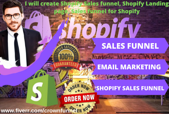 I will build premium shopify dropshipping store, redesign shopify store, FiverrBox