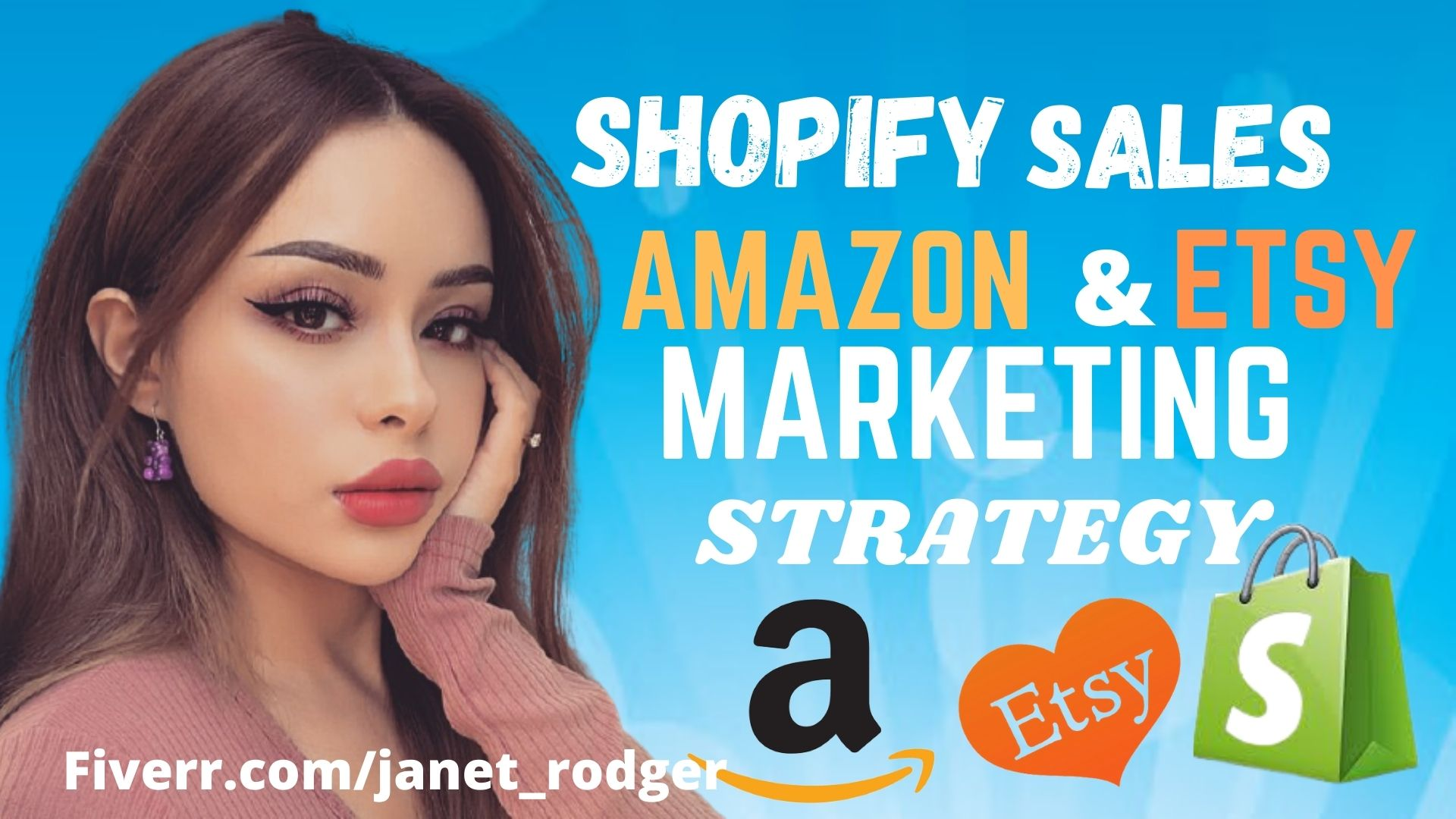 I will amazon teespring etsy shopify ecommerce marketing shopify traffic shopify sales, FiverrBox