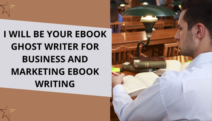 I will be your eBook ghost writer for business and marketing eBook, FiverrBox