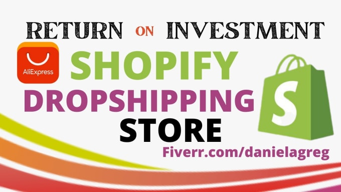 I will build automated aliexpress shopify dropshipping store shopify website help, FiverrBox