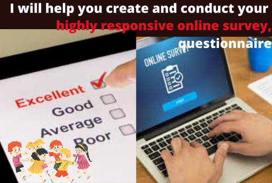 I will conduct your online survey to get targeted respondents, FiverrBox