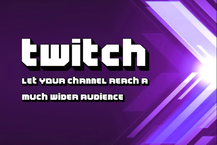 I will do organic twitch promotion to drive organic twitch audience, FiverrBox