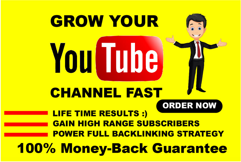 I will do organic youtube video promotion to fast rank channel, FiverrBox