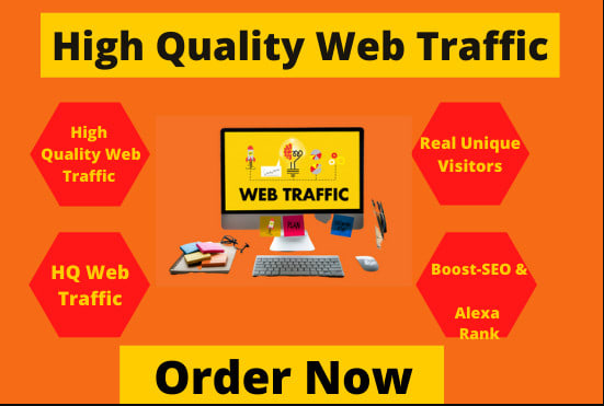 I will drive organic web traffic or unlimited visitor to boost website, FiverrBox