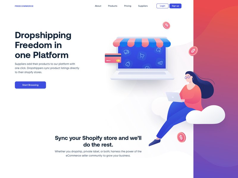 I will build shopify dropshipping store, design shopify website or, FiverrBox