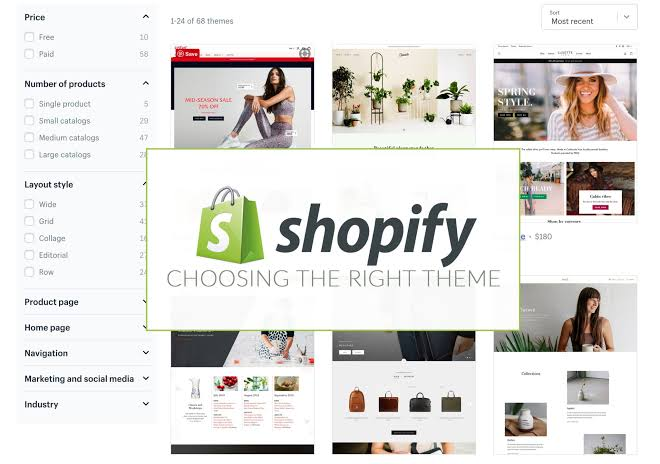 I will design a nice shopify store from scratch and manage the existing ones, FiverrBox