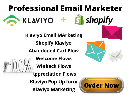 I will setup awesome klaviyo email marketing, shopify klaviyo flows, FiverrBox
