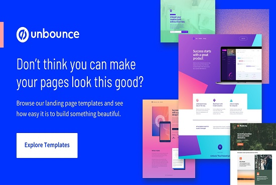 I will landing page HTML unbounce click funnel lead page on carrot, FiverrBox