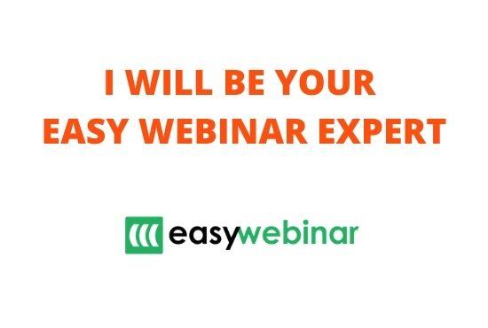 I will handle your easywebinar, webinar, membership, salesfunnel on clickfunnels,kartra, FiverrBox