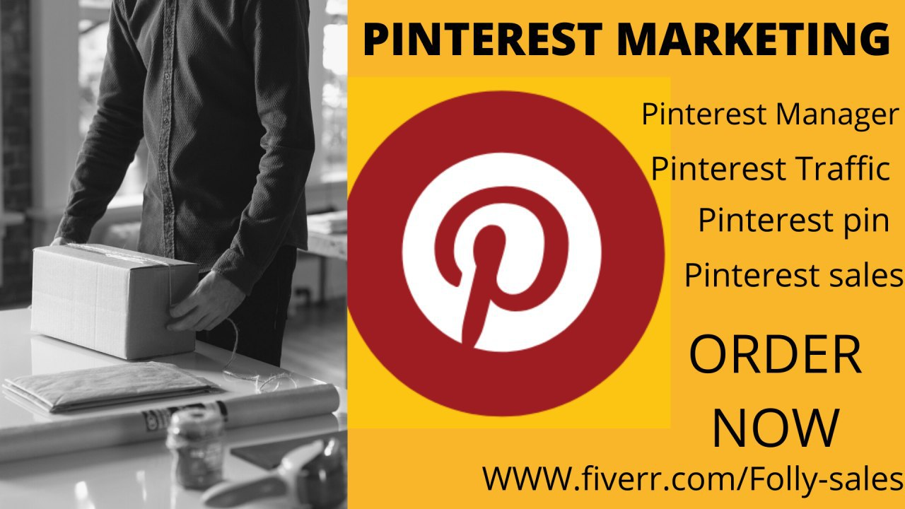 I will ROI sales conversion pinterest marketing ads for your shopify, FiverrBox